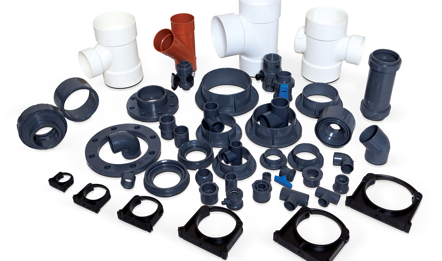 PVC-U Glue System Fittings Moulds